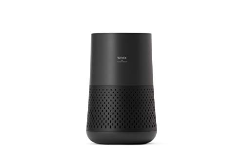 Winix A230 Tower H13 True HEPA 4-Stage Air Purifier, Perfect for Home office, Home classroom, Bedroom and Nursery, Charcoal Grey