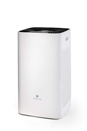 Medify Air MA-112 V2.0 Air Purifier with H13 HEPA filter - a higher grade of HEPA | Covers 2,400 sq ft - Allergies, Smog, Odors, Smoke, Pets Dander, Dust | Dual intake with 2 filters