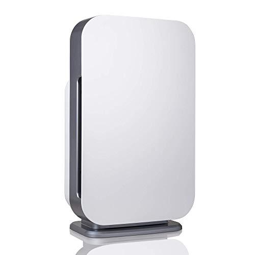 Alen BreatheSmart Flex Air Purifier, Dust, Mold, Pet Odors + Heavy Smoke, White