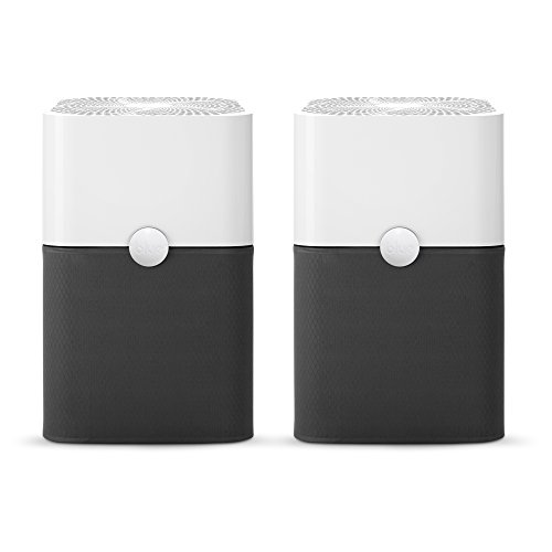 Blueair Blue Pure 211+  Air Purifier,3 Stage with Two Washable Pre-Filters, Particle, Carbon Filter, Captures Allergens, Viruses, Odors, Smoke, Mold, Dust, Germs, Pets, Smokers, Large Room (Pack of 2)