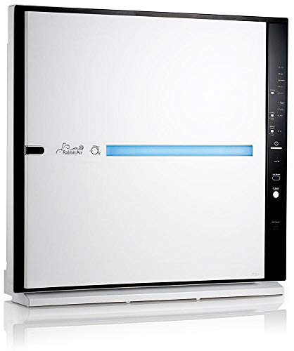 RabbitAir MinusA2 Ultra Quiet HEPA Air Purifier - Stylish, Efficient and Energy Star (SPA-700A, White, Pet Allergy)