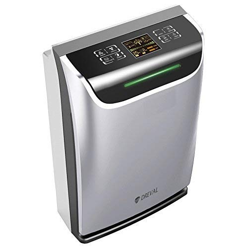 Dreval D-950 Air Purifier and Humidifier H13 HEPA Humidifier Combo