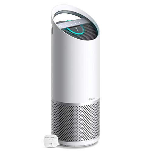 TruSens Air Purifier for Home | Filters Allergies, Pet Dander, Smoke, Odors, Germs, Bacteria | Removes 99.97% Dust, Mold, Pollen | True HEPA H13 Filter with UV-C Light Sanitizing Technology (Large)