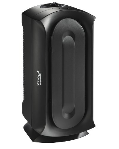 Hamilton Beach TrueAir Air Purifier for Home or Office with Permanent HEPA Filter for Allergies and Pets, Ultra Quiet, Black (04386A)