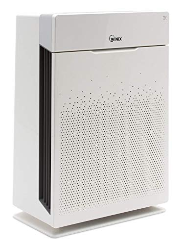 Winix HR900, Ultimate Pet 5 Stage True HEPA Filtration Air Purifier, 300 Sq. Ft, White