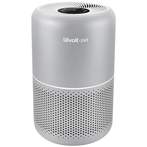 LEVOIT Air Purifier for Home Allergies and Pets Hair, H13 True HEPA Filter for Bedroom, 24db Filtration System with ARC Formula, Remove 99.97% Odors Smoke Dust Mold Pollen, Core P350, Gray