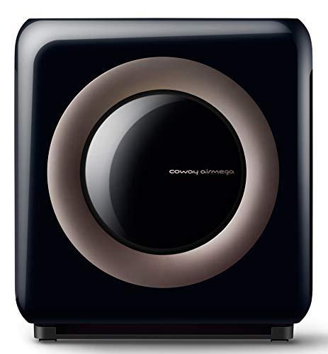 Coway Airmega AP-1512HHS (AP-1519P) HEPA Air Purifier, 16.8 x 18.3 x 9.6, Black/Brown