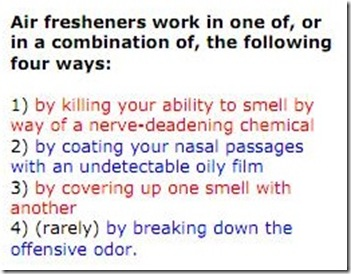how air freshener works